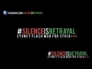 Flash mob protest for Syria (Sydney, Australia, May 2012) #Silenceisbetrayal