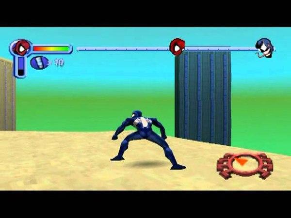 Spider Man 1 PSX Catch Venom! (Fake Version)?