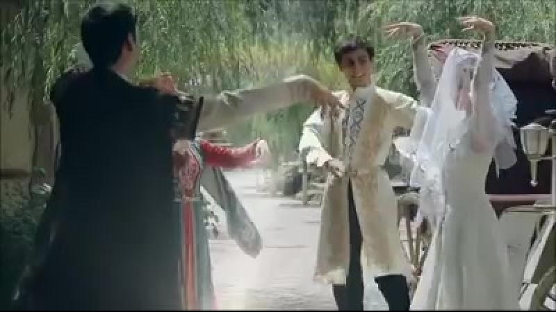 Армянская национальная свадьба. Танец жениха и невесты.
