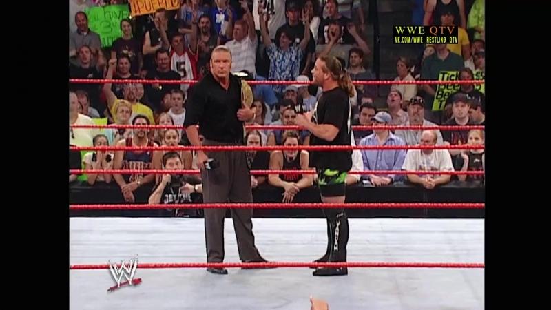 [WWE QTV]☆[WWE RAW[Фоменко]16.09.02]Сегмент с Роб Ван Дамом и Трипл Ейчем]