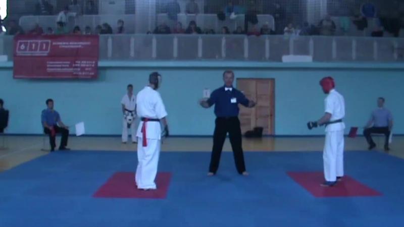 Соревнования Харьковской области по киокушинкай каратэ