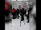 Задержание одного из нападавших