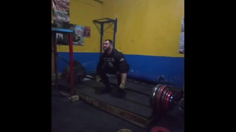Михаил Ходяков (Украина), становая тяга оси Аполлона - 280 кг на раз💪, подготовка к Belarus Strong Battle - 2018💪