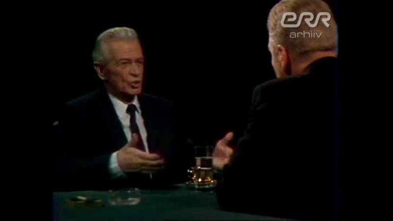 Carte blanche: Kaljo Kiisk. ETV [1995]