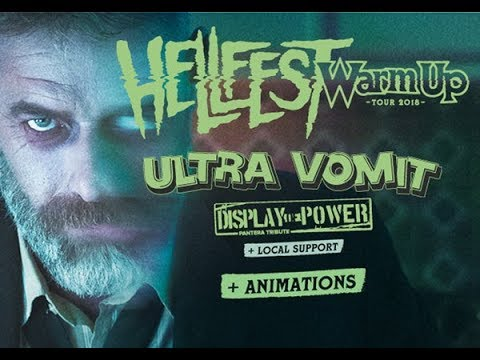 Ultra Vomit Live Nantes 30/04/2018 Hellfest Warm Up 2018
