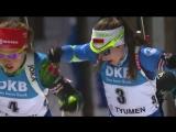 It's another win for Darya Domracheva