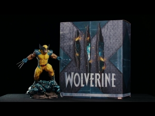 Sideshow: Wolverine Premium Format Statue Exclusive Edition out of the box