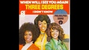 The Three Degrees - When Will I See You Again (HQ)
