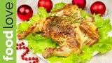 Цыпленок, запеченный с сыром филадельфия, паприкой и тимьяном | Новогодние рецепты | FoodLove