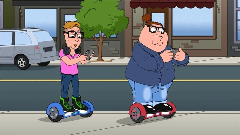 Peter Becomes a Millennial - Family Guy