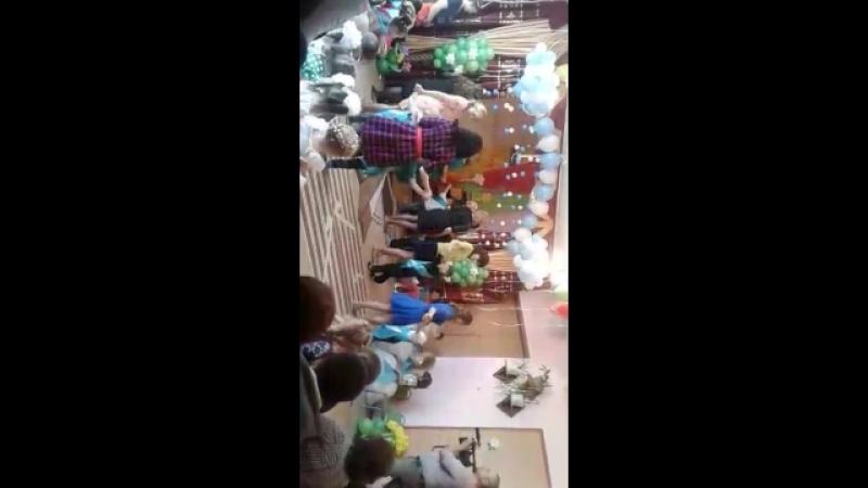 наш танец на выпускном в детском саду