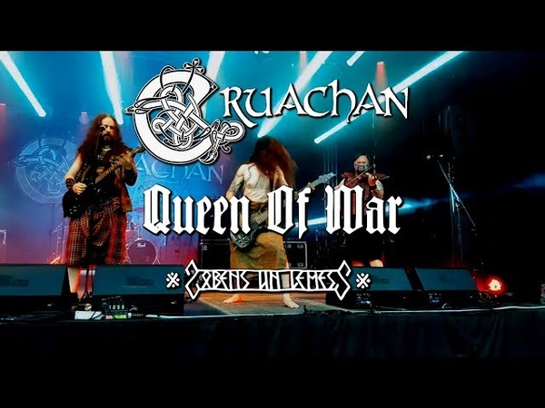 Cruachan Queen of War live in Latvia at Zobens Un Lemess 2018