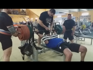 Ншан Агабабян жмет 320 кг в #RT_Extrteme_2