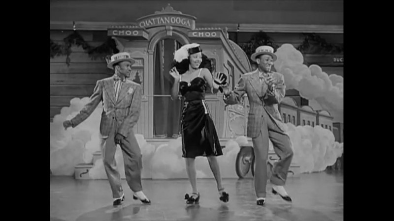 Tex Beneke, Paula Kelly, and The Modernaires, then danced and sung by The Nicholas Brothers and Dorothy Dandridge
