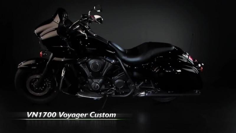 Kawasaki VN1700 Voyager Custom 2011 Official video