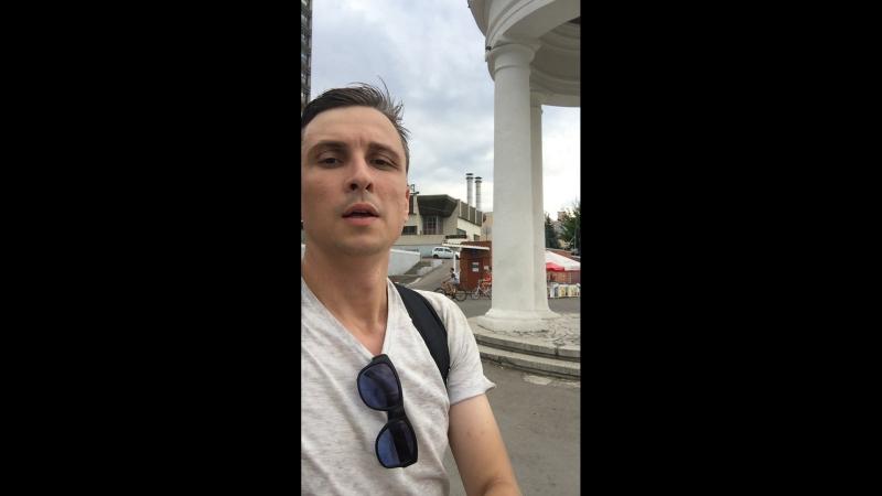 Саратов trip от Ротонды до моста через Волгу