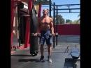 """Денис Семенихин on Instagram: """"Для поднятия заряда и настроя на тренировки. Сегодняшняя последовательность упражнений."""