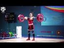 Ребека Коха до 58 кг толчок 100 кг, рывок 120 кг