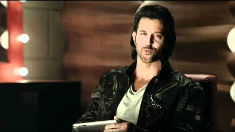 IBall Slide Ad Featuring Hrithik