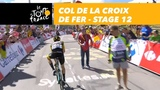 Steven Kruijswijk on top Col de la Croix de Fer - Stage 12 - Tour de France 2018