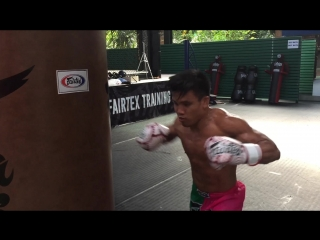 Good Old Boxing -  Training with MMA fighters from Fairtex Team(04.07.18)