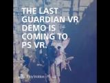 The Last Guardian VR teaser