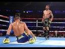 The Scene Jorge Linares Knockdown Vasyl Lomachenko in Round 6