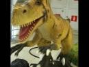 Выставка динозавров в ТРК Глобал Сити. Москва.