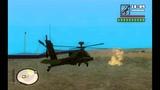 GTA SA: AH-64 Apache with tracer round mod