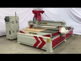Mexico High precision cnc router machine, single head wood router machine, HQD Spindle Yaskawa servo cnc cutting machine