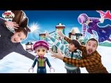 Папа Дома • Папа Роб, Ярик и Лера собирают горнолыжный курорт LEGO FRIENDS! Часть 2.