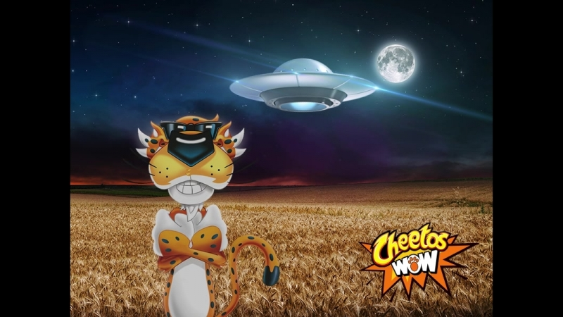 Cheetos НЛО