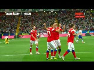 5:1. Дмитрий Полоз, 83'. Россия - Чехия