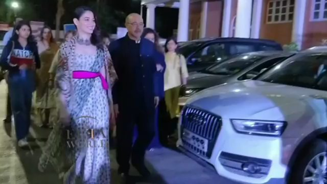 "Vaishali Chandra on Instagram: ""Regrann from @elfaworld - @tamannaahspeaks arrives at Dadasaheb Phalke Excellence Awards! tamannaahbhatia taman..."