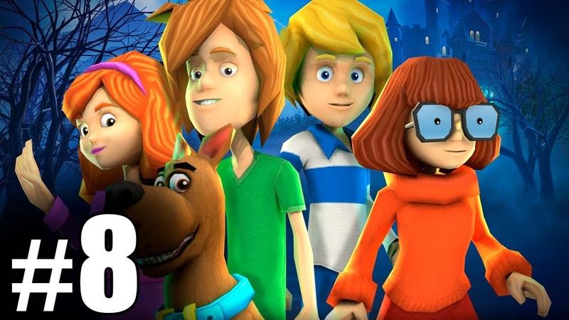 8 Обзор и летсплей по игре Скуби Ду Зловещий замок Letsplay game Scooby Doo First Frights