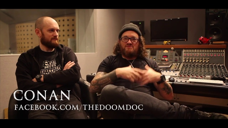 UK doom band, Conan talk about volume and simplicity - The Doom Doc