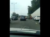 ДТП на трассе Адлер - Сочи, 31 августа