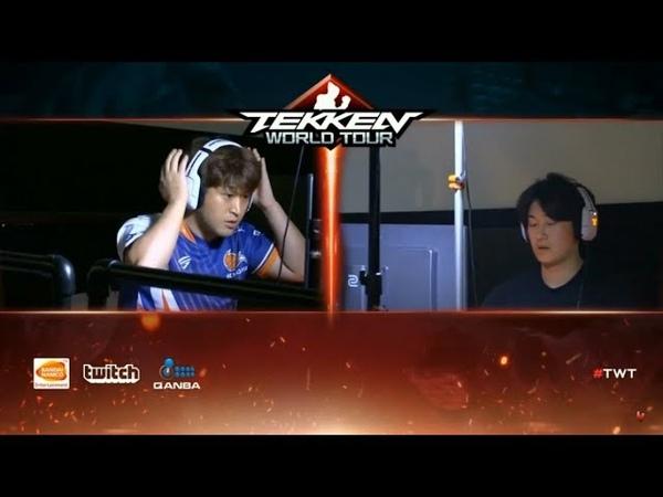 BBR VS FIGHTING 2018 Tekken 7 - ECHO FOX SAINT vs UYU JEONDDING