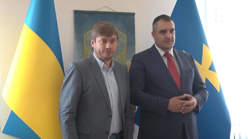 Національно-патріотична тема – пріоритетна у співпраці Полтавської та Львівської обласних рад