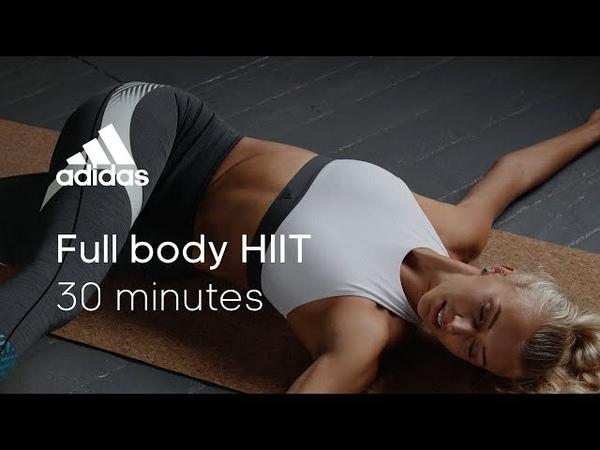 30 min Full Body HIIT with Zanna van Dijk | adidas women workouts