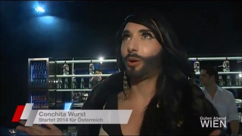 Songcontest 2014 mit Conchita Wurst - Guten Abend Wien 10.09.13