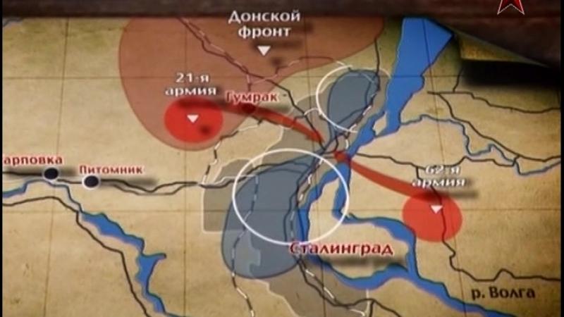 Сталинградская битва 4 серия Охота на Паулюса 2012