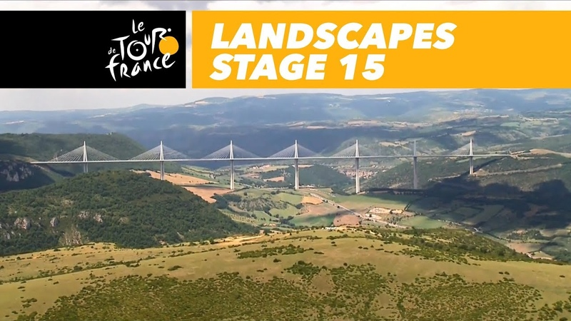 Landscapes of the day - Stage 15 - Tour de France 2018