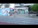 Вечер гитарной песни на площади Европы, ч.2