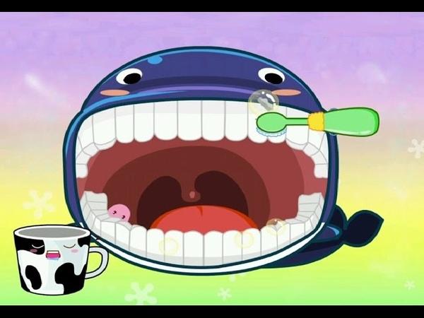 Зубная Щетка Малыша Панды. Как Научить Малыша Чистить Зубы. Новый Мультик для Детей и Малышей.