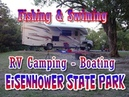 RV Camping At Eisenhower State Park On Lake Texoma 1 Hot Time In June