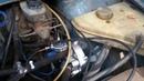 установка ГБО газового редуктора на Москвич 2141и врезка штуцеров в карбюратор солекс своими руками
