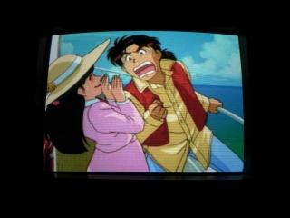 Kindaichi Shounen no Jikenbo - Hihoushima Aratanaru Sangeki PS1 (1996, Kodansha, Digital Frontier)