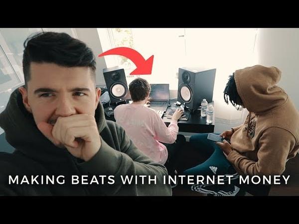 MAKING BEATS WITH INTERNET MONEY *insane*