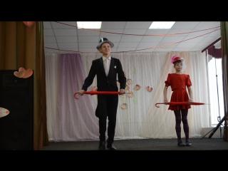 Я люблю танцевать. Кошман Виктор и Соколова Наталья. Участники районного конкурса Ярмарка талантов.